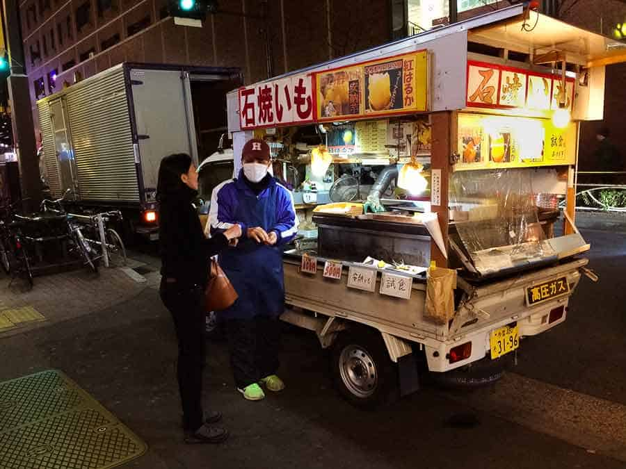 Shinjuku Sweet Potato Truck