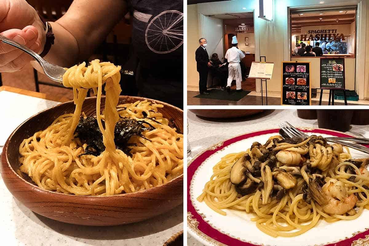 Spaghetti Hashiya - Best Yoshoku pasta in Shinjuku