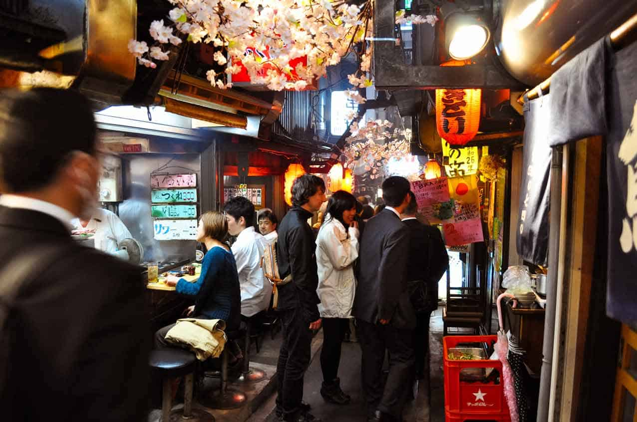 Shinjuku Bar Alley