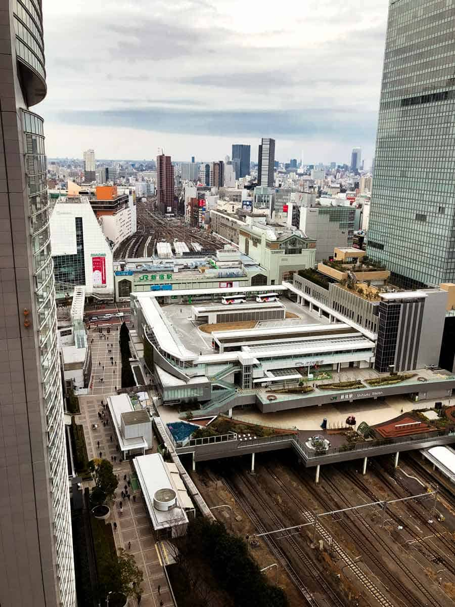 Shinjuku station - the world's busiest station