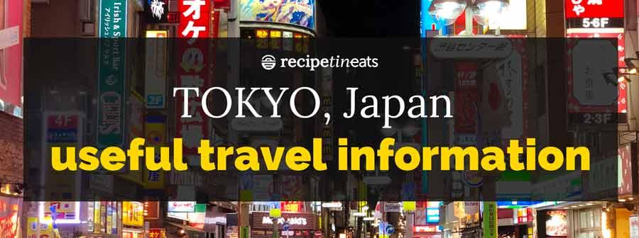 Tokyo Japan Travel Information - header