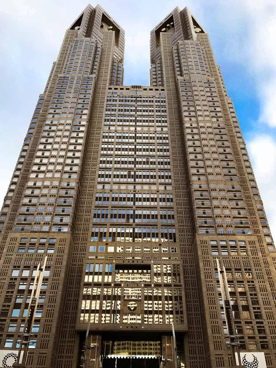 Shinjuku Tokyo Metropolitan Government Buildling