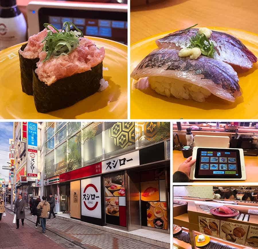 Ueno sushi - Sushiro