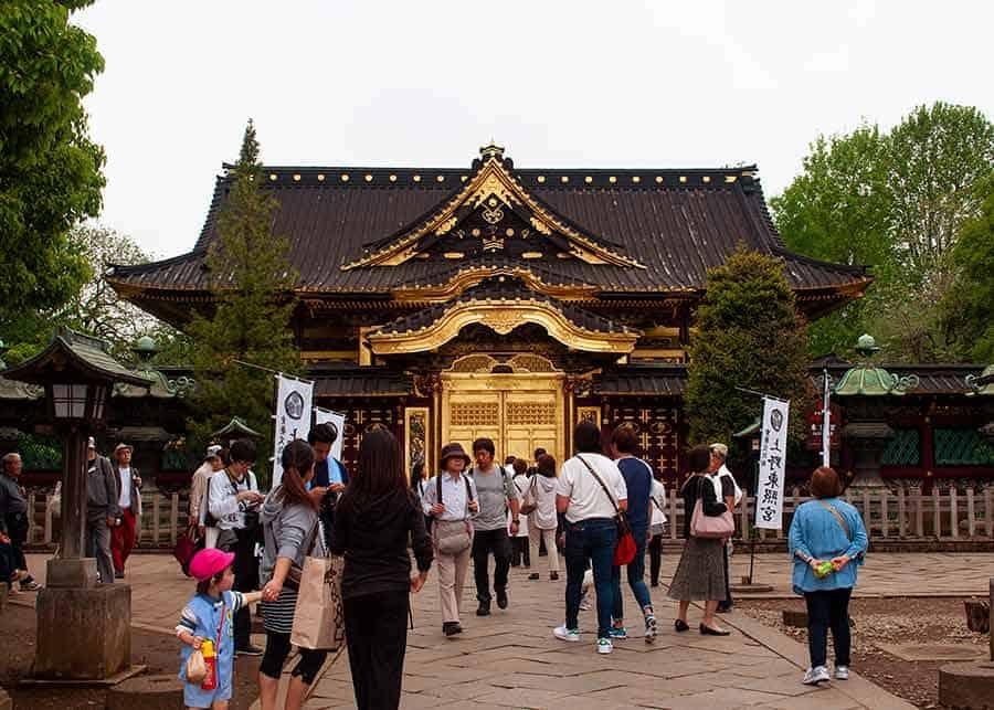 Ueno Park Toshogu Shrine
