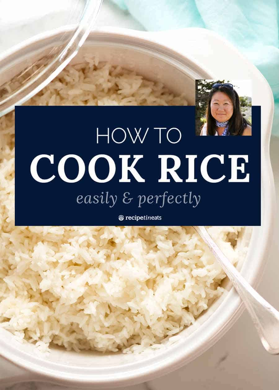 How To Cook White Rice Easily And Perfectly Recipetin Eats