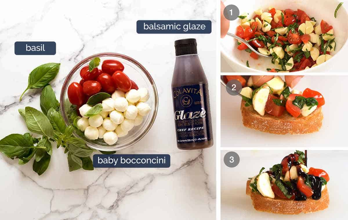 How to make Caprese Crostini