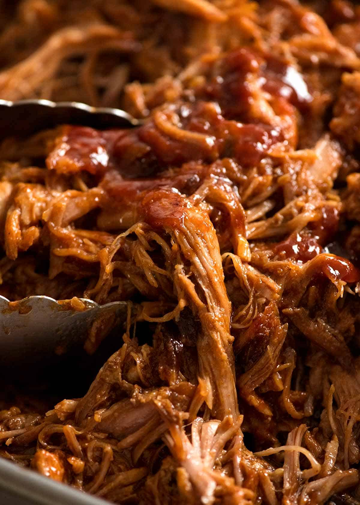 Pulled Pork With Bbq Sauce Recipetin Eats