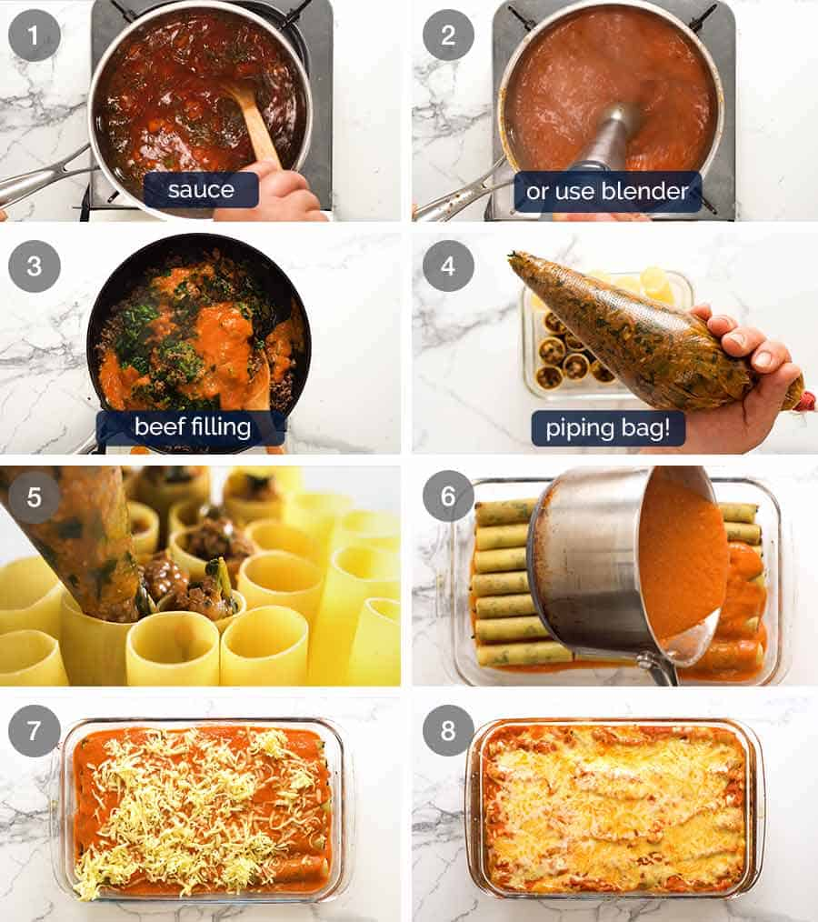 How to make Beef Cannelloni
