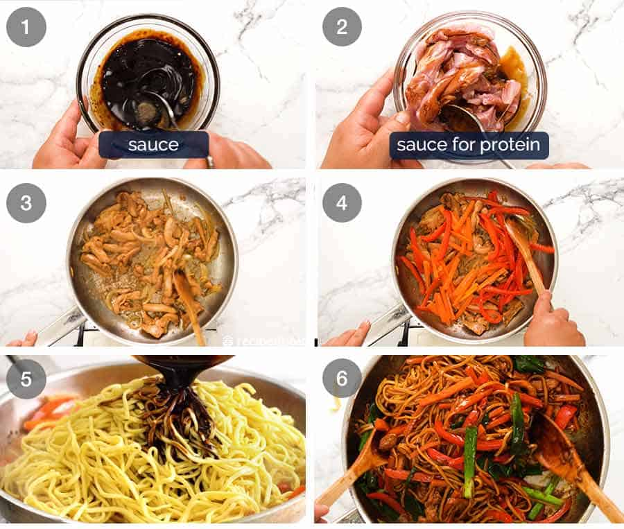 How to make Lo Mein