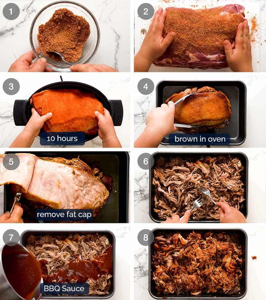 How to make pulled pork in slow cooker