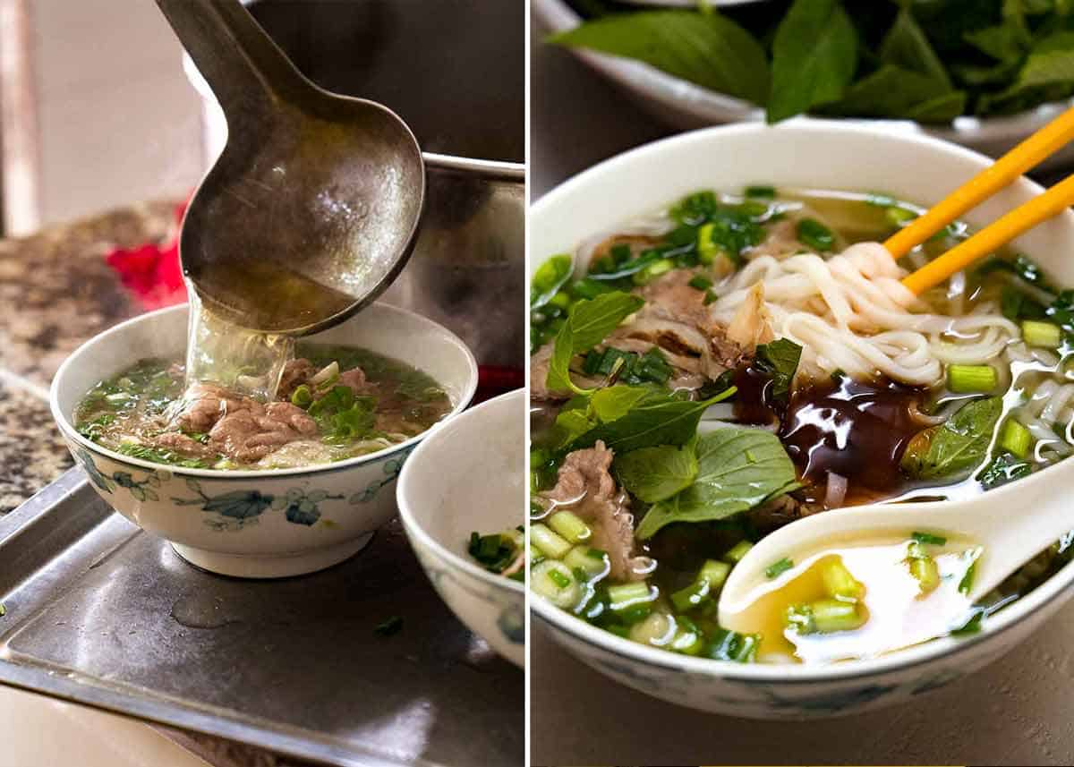 Best Pho in Ho Chi Minh City Vietnam - Pho Tau Bay