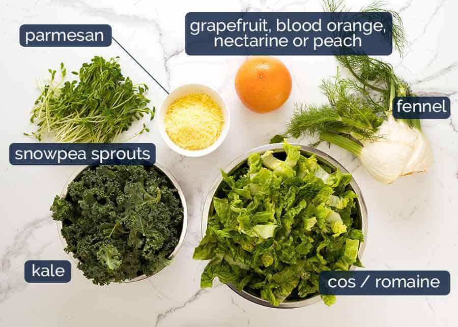 Ingredients in Celebration Salmon Salad