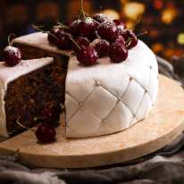 Christmas Cake - easy moist fruit cake