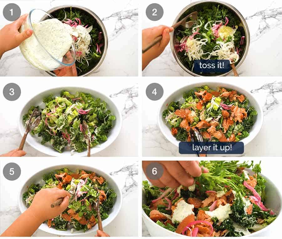 How to make Celebration Salmon Salad