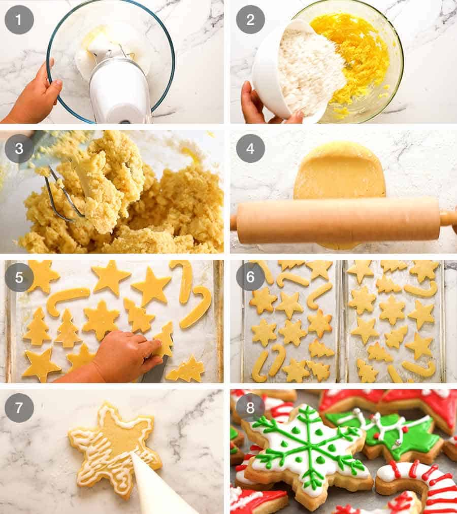 How to make Christmas Cookies - Cut out Sugar Cookies