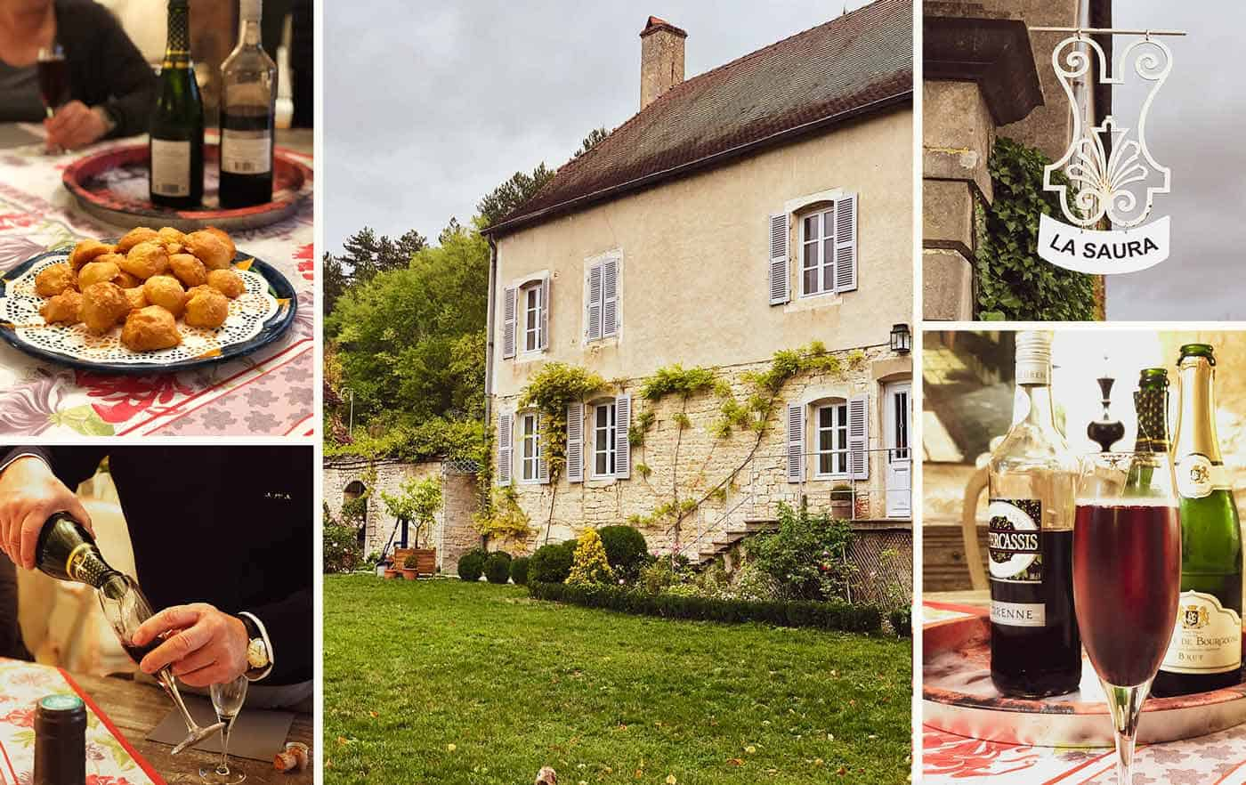 La Saura - amazing French villa bed & breakfast in Burgundy, France