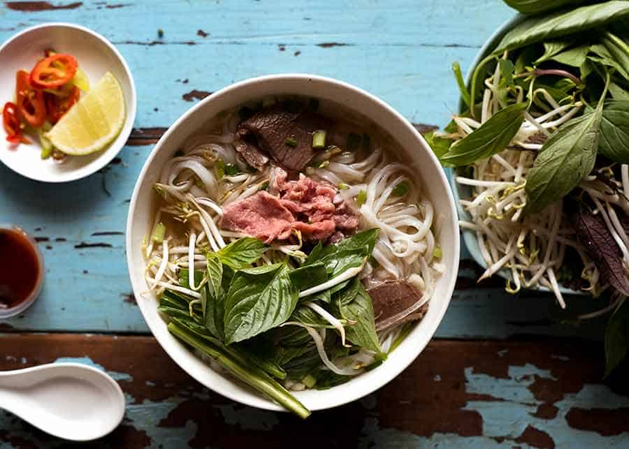 Beef Pho in Ho Chi Minh City