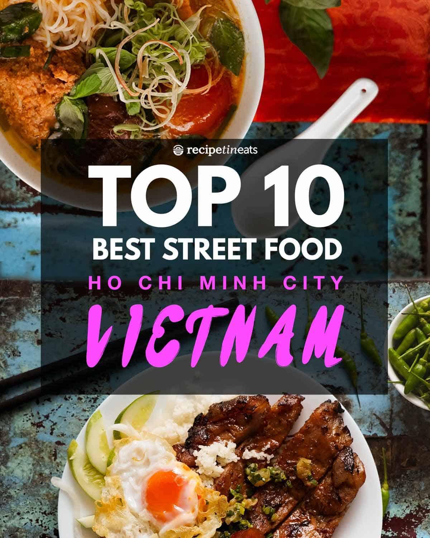 {Pilot Travel Video!!} Top 10 BEST Street Food in Vietnam – Ho Chi Minh City