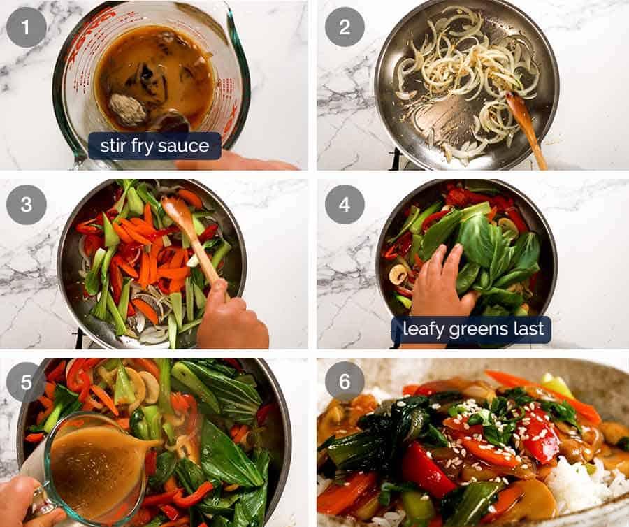 How to make Stir Fried Vegetables