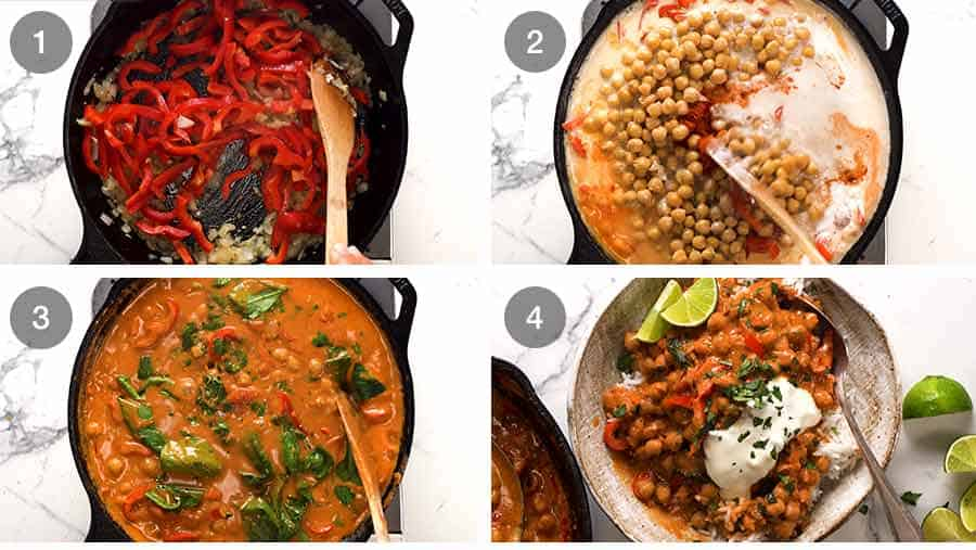 How to make Brazilian Chickpea Curry