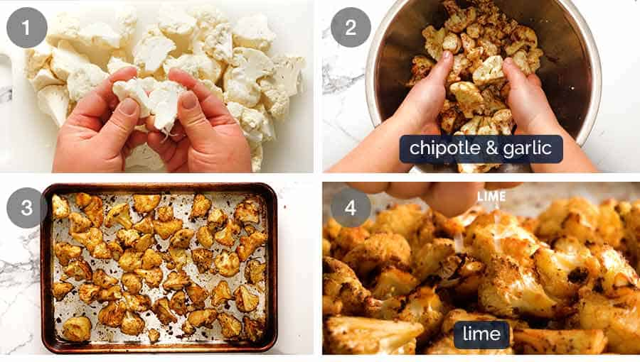 How to make Chipotle Lime Roasted Cauliflower
