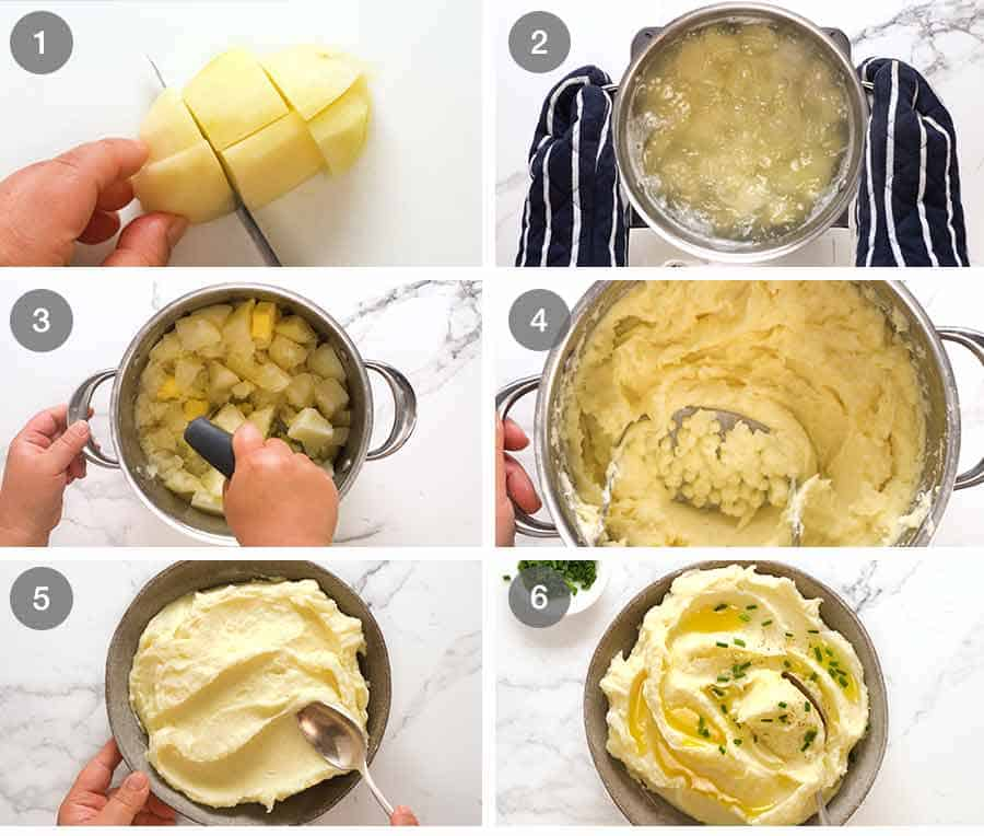 How to make homemade Mashed Potato