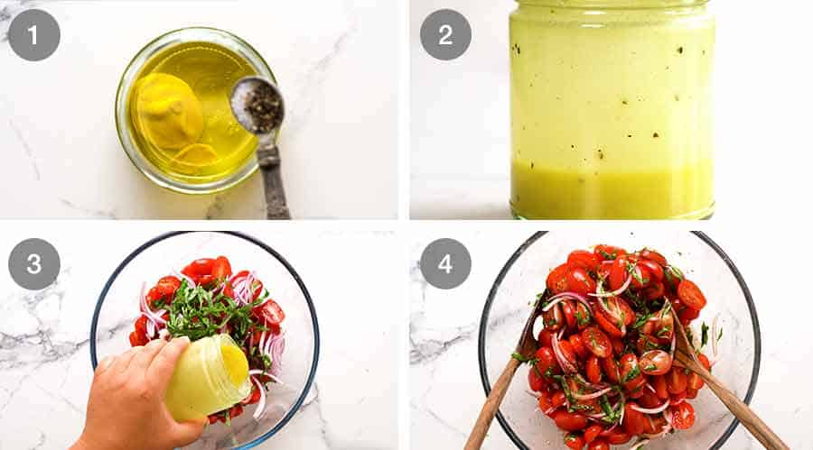 How to make Tomato Salad with Basil