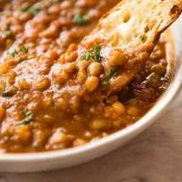 The BEST lentil soup in the world!