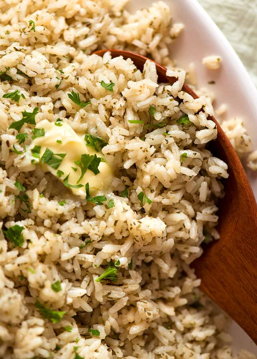 Buttery Seasoned Rice – super economical, super tasty!