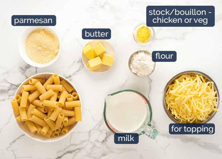 Creamy sauce for pasta bake