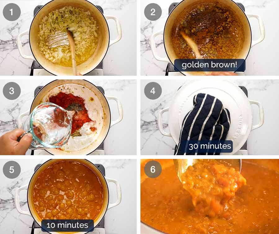 How to make Lentil Curry