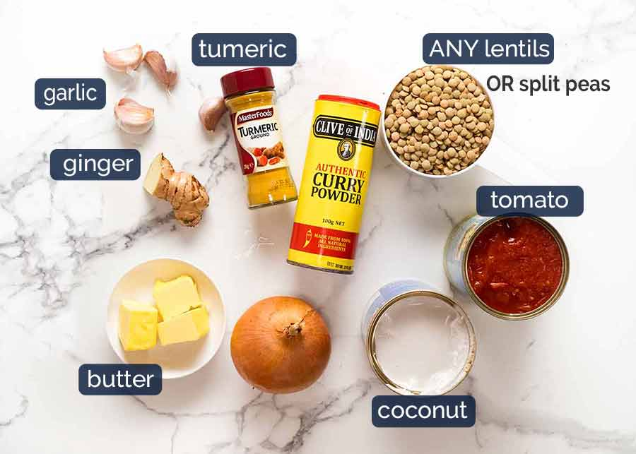 What goes in Lentil Curry - best lentil recipe