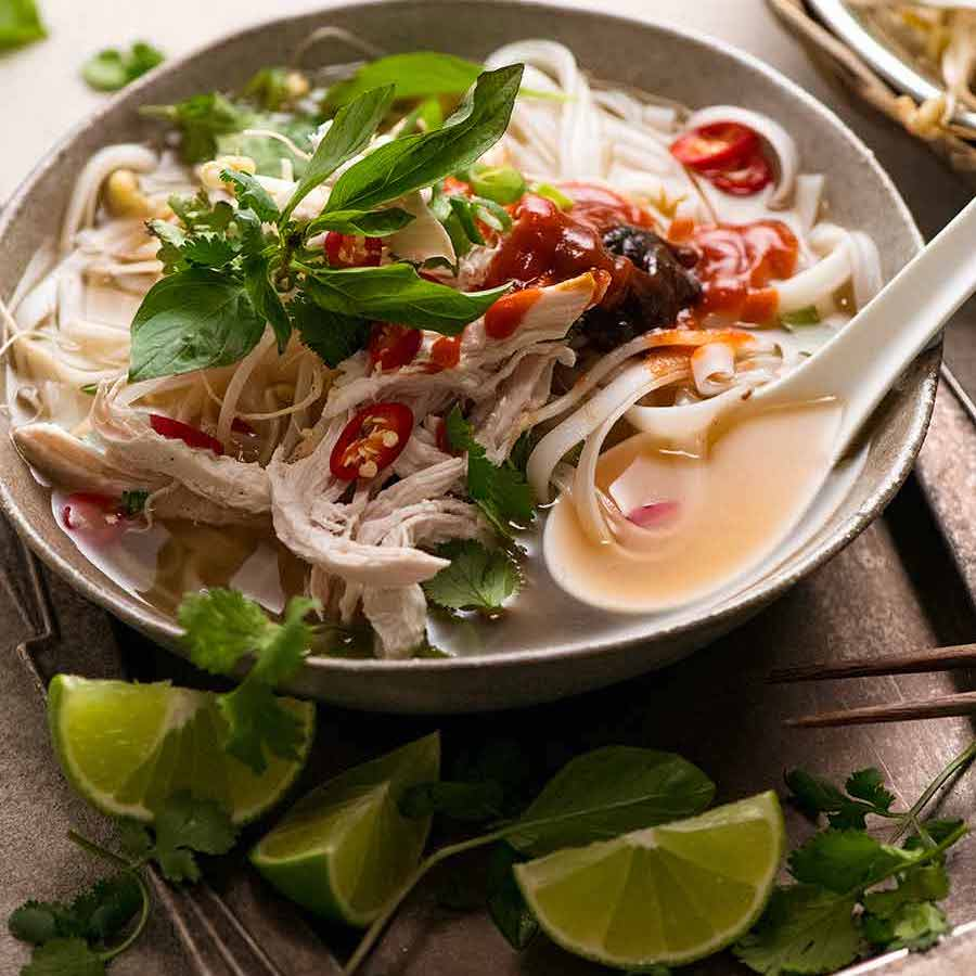 Vietnamese Chicken Pho Soup Pho Ga Recipetin Eats