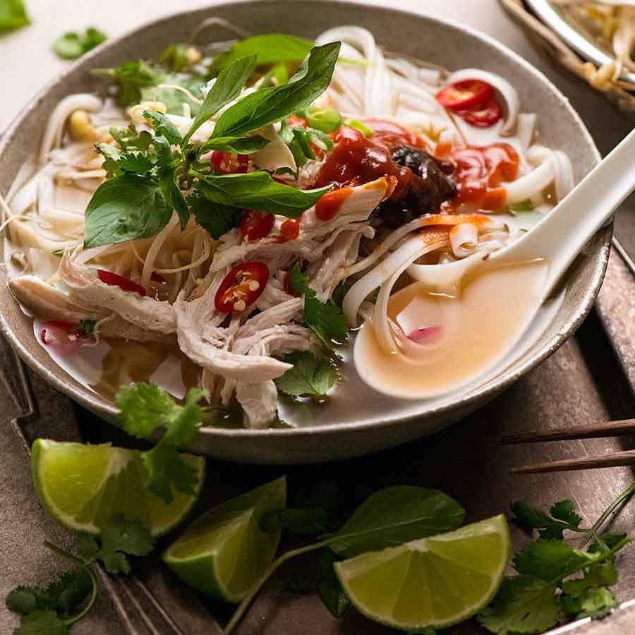Vietnamese Chicken Pho Soup Pho Ga Recipetin Eats