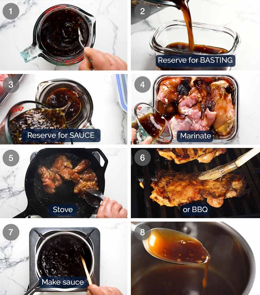 How to make Honey Garlic Chicken