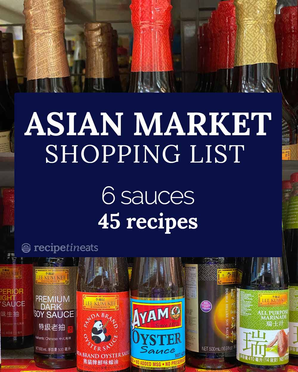 My Asian market shopping list (6 sauces, 45+ recipes!) 19