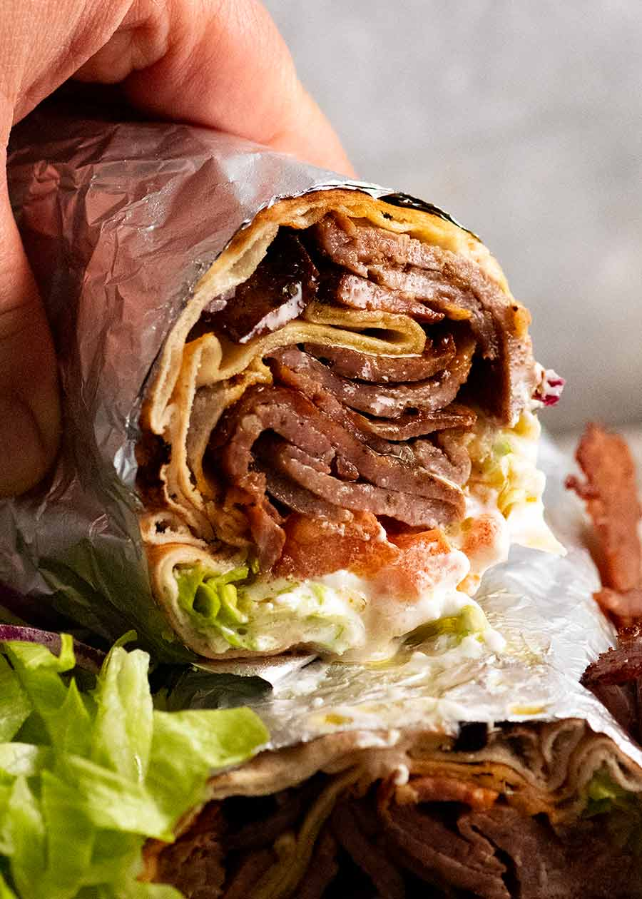 Doner Kebab Meat Beef Or Lamb Recipetin Eats