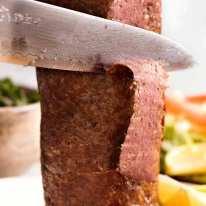 Carving Doner Kebab Meat