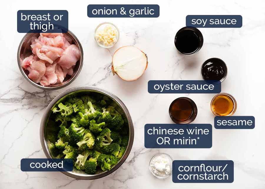 What goes in Chicken Broccoli Stir Fry