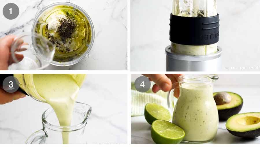 How to make Creamy Avocado Dressing