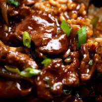 Close up photo of Mongolian Lamb