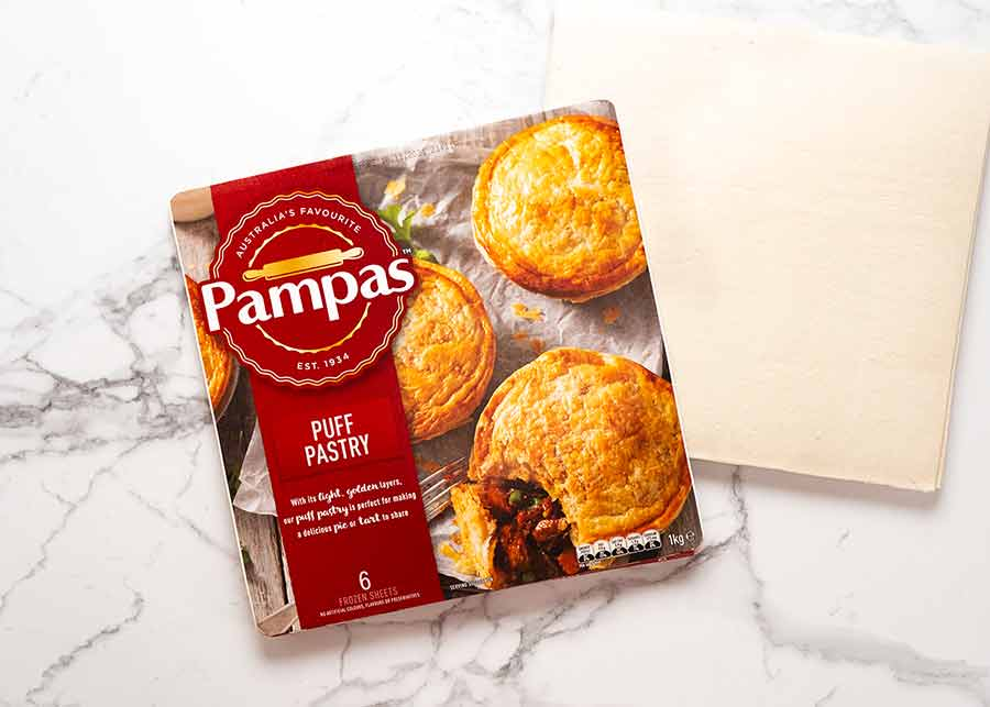 Puff pastry for Vegetable Samosa Pie