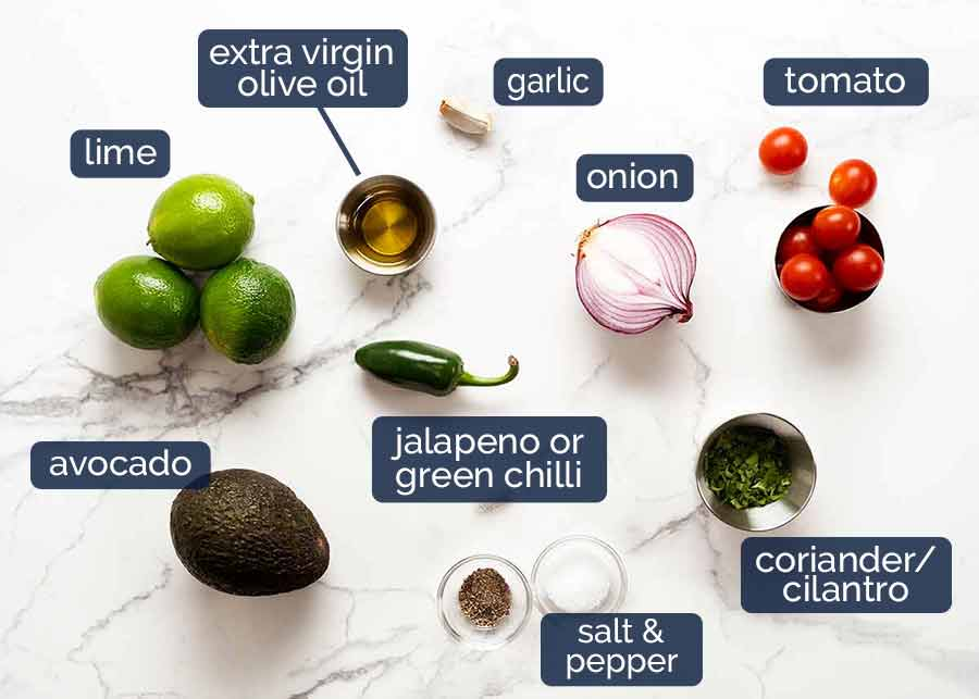 Ingredients in Ceviche
