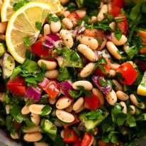 Salada de tabule de feijão branco | RecipeTin Eats 2