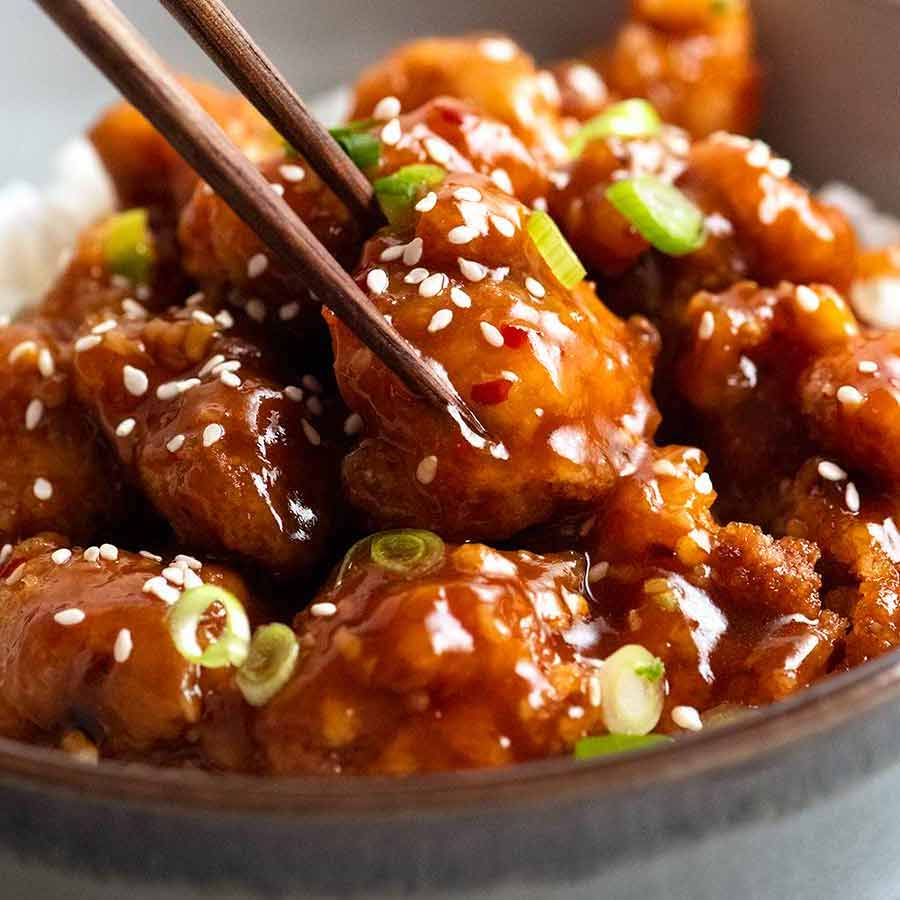 General Tso S Chicken Recipetin Eats