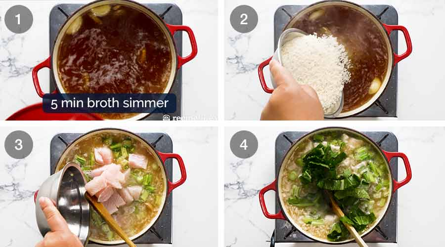 How to make Chinese Rice Soup