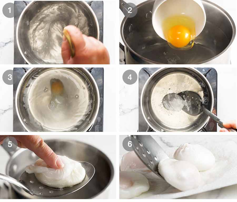 How to make Poached Eggs using the whirlpool method