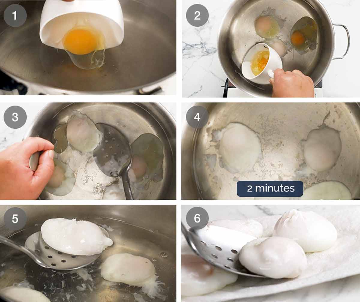 How to make Poached Eggs the easy way
