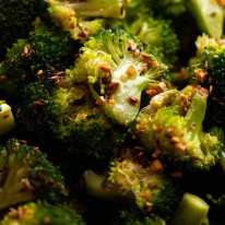 Close up of New York Times Broccoli Salad