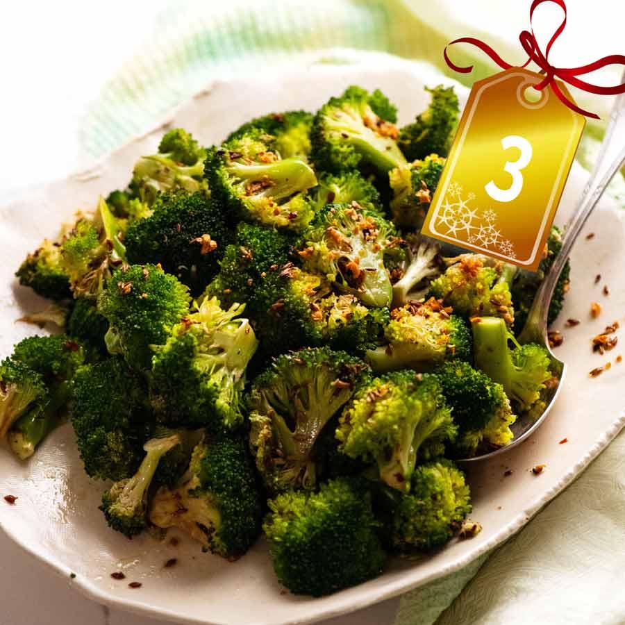 Ny Times Famous Broccoli Salad With Sesame Cumin Garlic Recipetin Eats